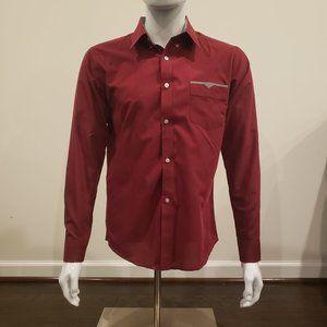 VSKA Men Slim Fit Dress Shirt M